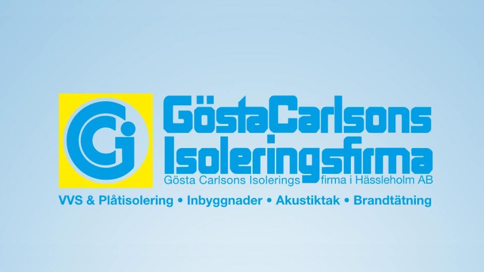 Gösta Carlssons Isoleringsfirma