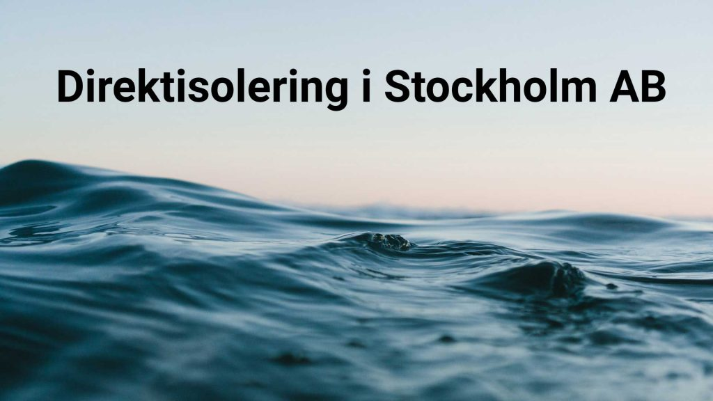 Direktisolering i Stockholm AB